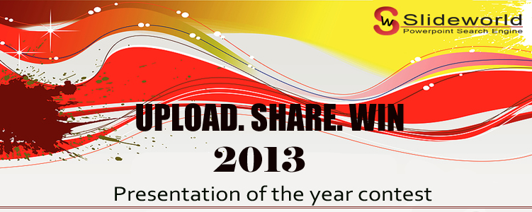 Presentation of the year2013