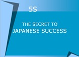 5S secret  of japanese success