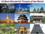 10 most wonderful temples