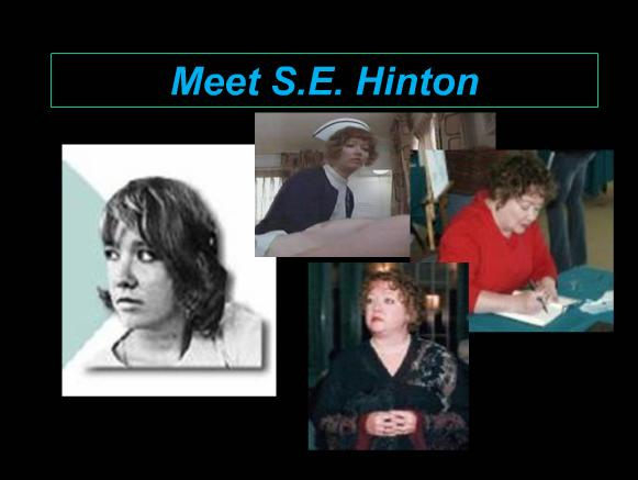 Meet S.E. Hinton