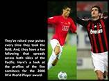 2008 FIFA World Player awards