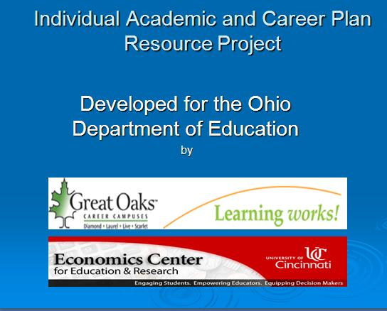 Individual Academic and Career Plan Resource Project 