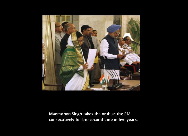 cabinet ministers of India Dr. Manmohan for the second time
