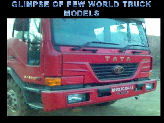TATA motors world truck the sneak preview