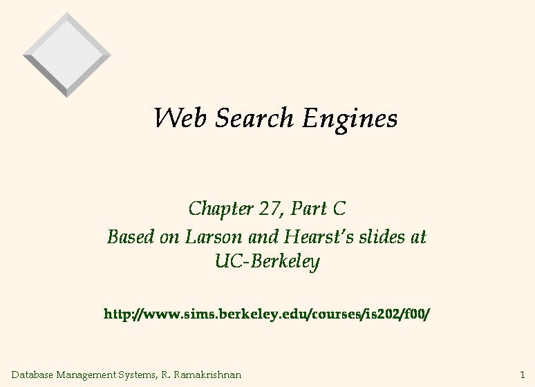 Internet search engine an innovation