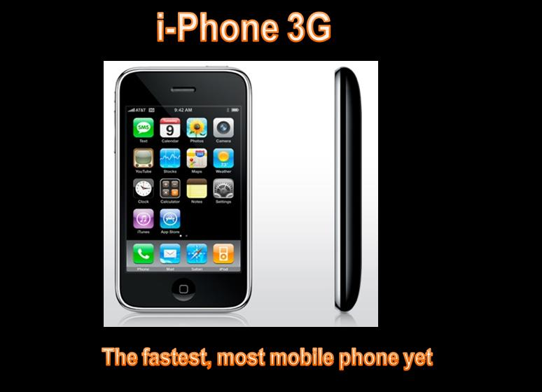 i-Phone 3G