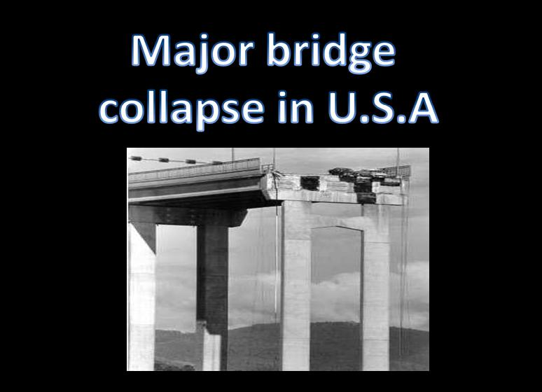 Major bridge-collapse in u.s.a