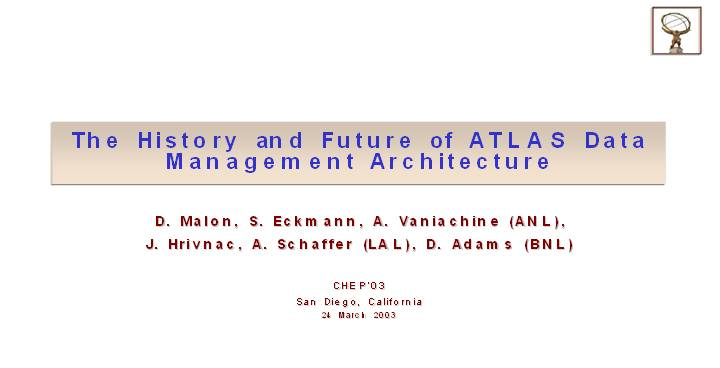 The History and Future of ATLAS Data Management Architecture