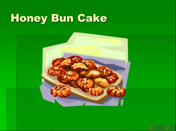 how to make honey bun cake