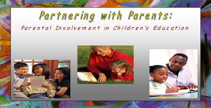 Increasing Parental Involvement in Children