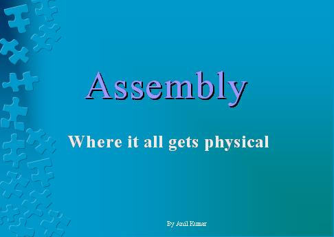 Assembly  What is an Assembly  Static and Dynamic Assemblies  Assembly vs. Module  Assembly vs. Namespace What is  Modul  what is Namespace