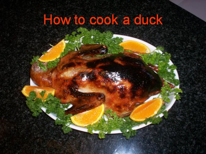 How to cook a duck