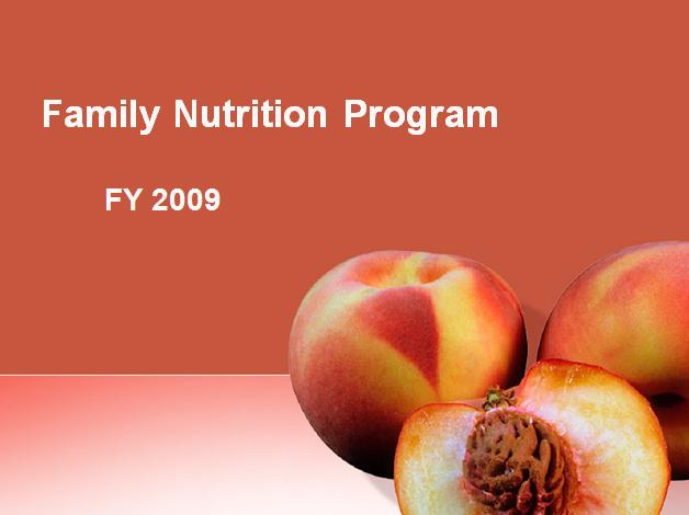 Family Nutrition Program