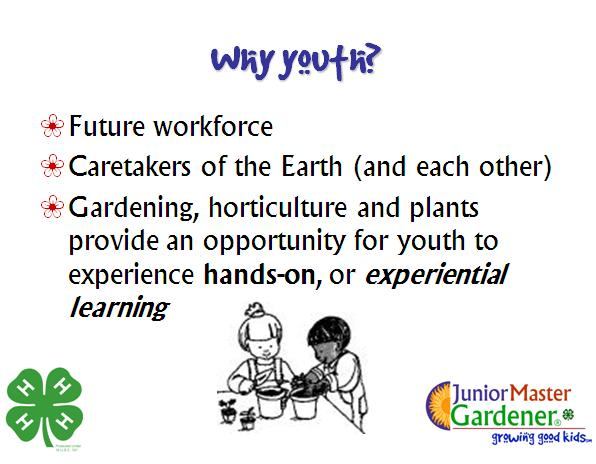 Growing Good Kids Making a difference via Horticulture