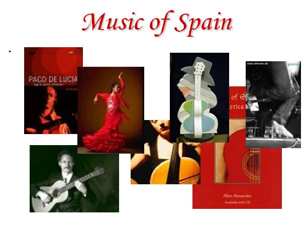 Music of Spain Guitar and Flamenco