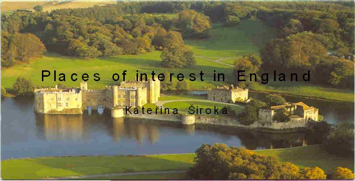 Places of interest in England