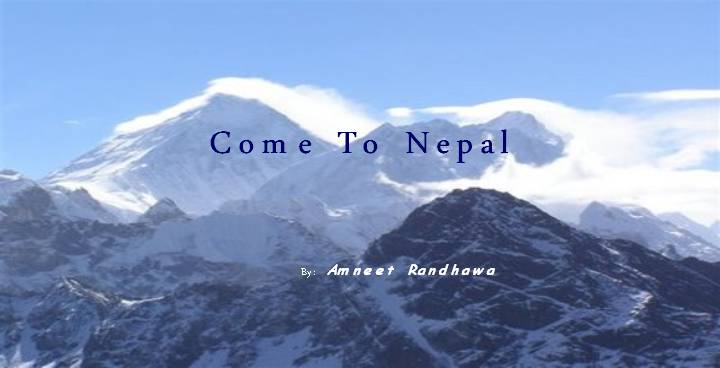 Nepal must visit