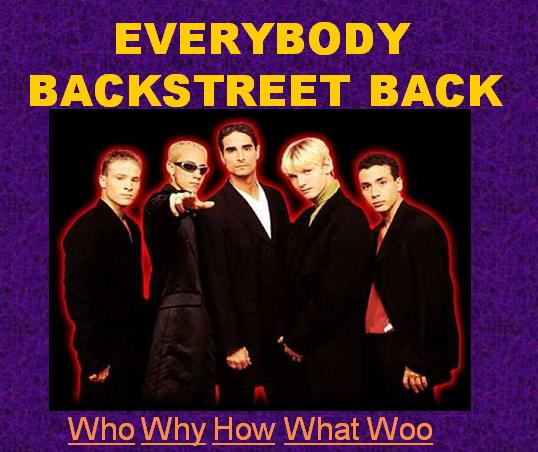 Backstreet Boys for 