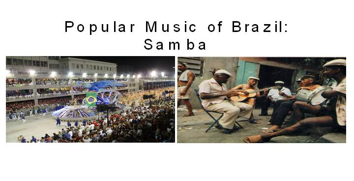 Samba The Rythm of Brazil 