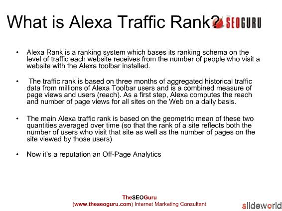 How to Improve Alexa Traffic Rank