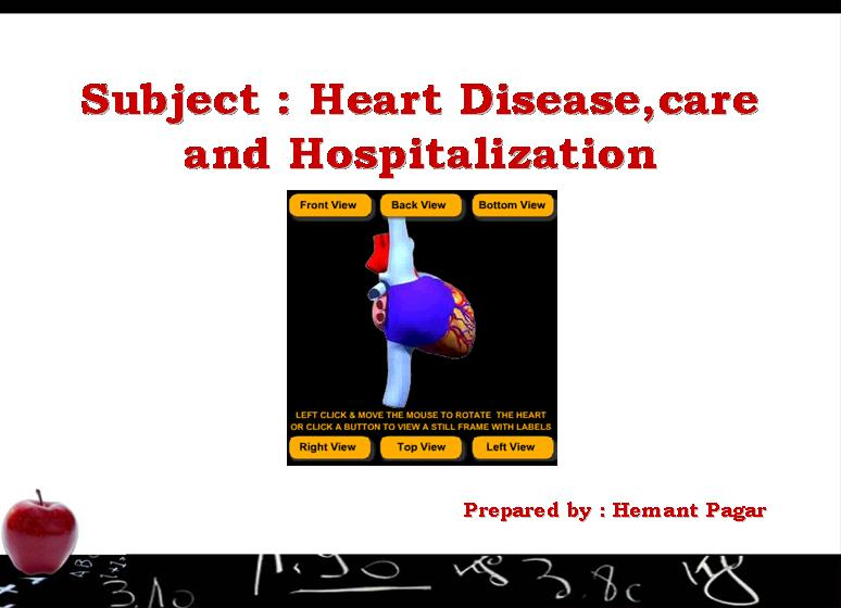 Heart care and hospitalization