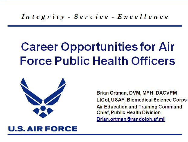 Air Force as a career