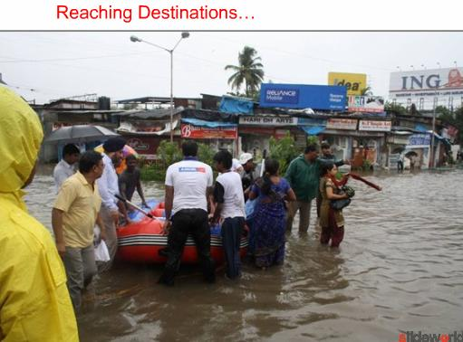 Mumbai, rain and rescue
