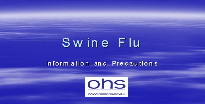 powerpoint presentation of swine flu