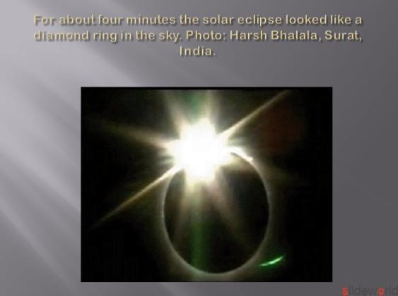 Asia eclipse Captured in pictures