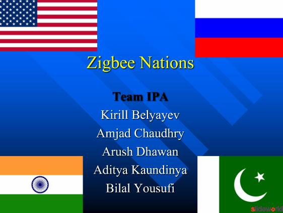 Zigbee Nations Zigbee technology everywhere