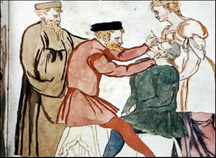 Top 10 Excruciating Medical Treatments from the Middle Ages