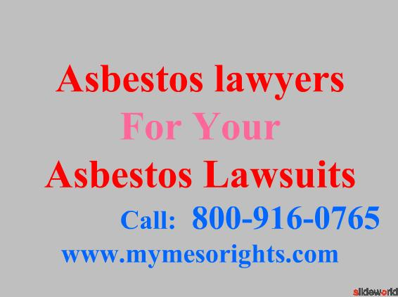 Asbestos Layers  Mesothelioma Attorneys