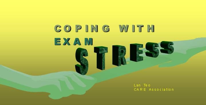 Coping with Exam Stress