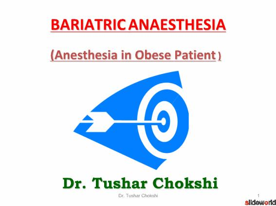 bariatric anaesthesia