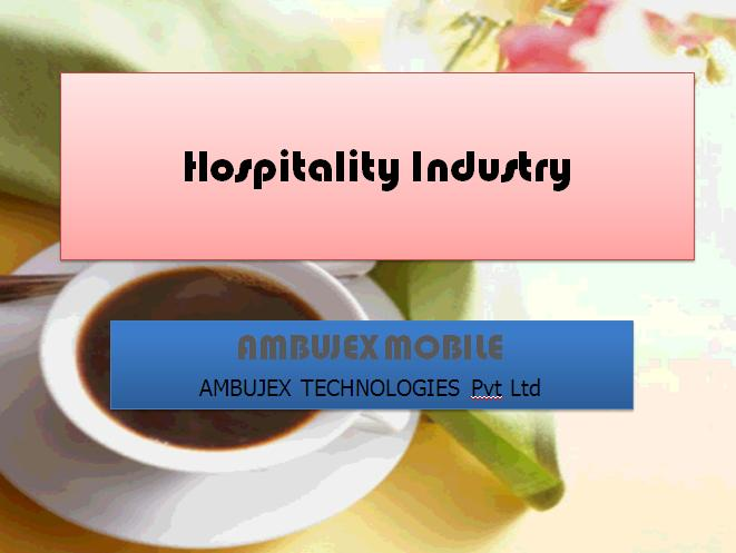 Web 2.0 based Application/Website development for Hospitality industry
