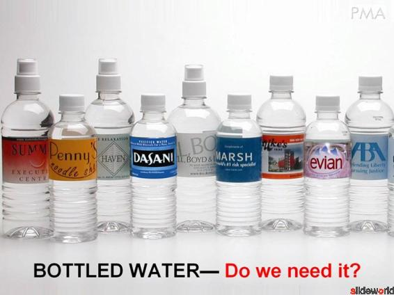 Pollution by Bottle water 