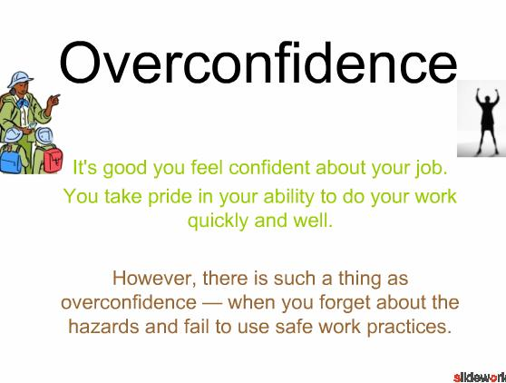 Overconfidence