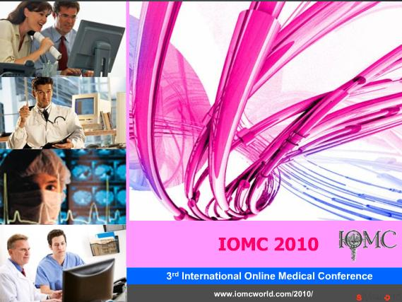 IOMC 2010 - 3rd International Online Medical Conference
