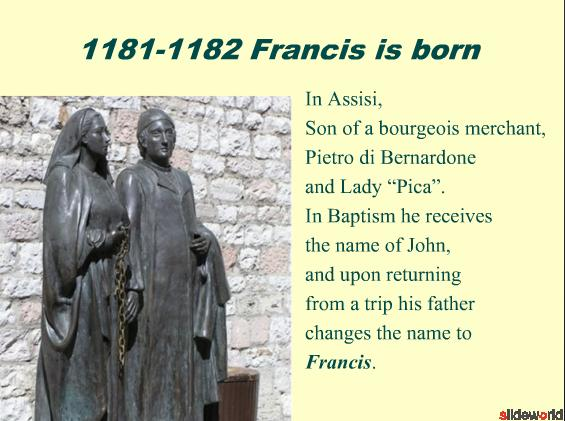 Francis of Assisi  a biographical synthesis
