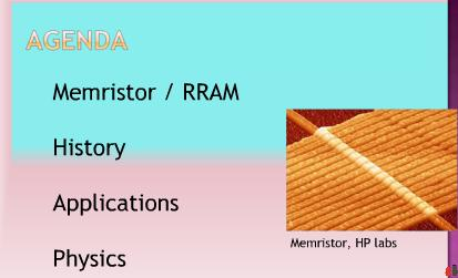 memristors