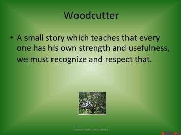 woodcutter story