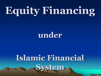 equity financing New