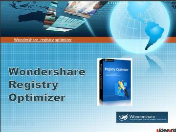 Keep PCs running like new with Wondershare registry optimizer