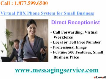 Virtual PBX Phone System, Virtual Receptionist, VoIP PBX