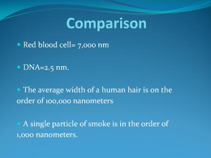 Nano technology ppt
