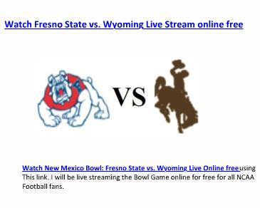 Watch New Mexico Bowl Live Stream online free