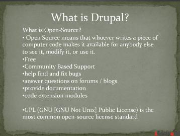 Drupal introduction