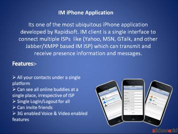 iPhone Applications, Android Programming, Blackberry Application Developers, Java Mobile Development, Windows Mobile programming companies