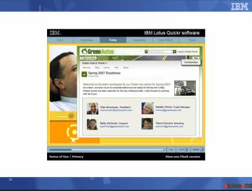 IBM Lotus Quickr Demo