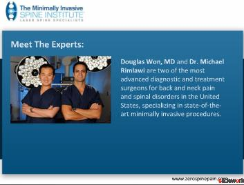 MISI - Back, Neck  Spine Doctors Dallas
